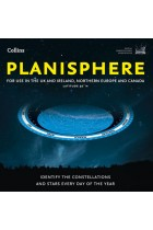 Купить - Книги - Planisphere Map: Latitude 50 N