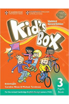 Купить - Книги - Kid's Box Level 3 Pupil's Book British English