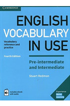 Купить - Книги - English Vocabulary in Use Pre-intermediate and Intermediate Book with Answers and Enhanced eBook. Vocabulary Reference and Practice