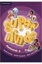 Купить - Книги - Super Minds 6 Flashcards (Pack of 98)