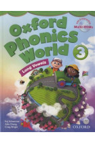 Купить - Книги - Oxford Phonics World 3: Student's Book (+ Multi-ROM)