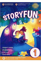 Купить - Книги - Storyfun for Starters Level 1 Student's Book with Online Activities and Home Fun Booklet 1