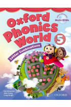 Купить - Книги - Oxford Phonics World. Level 5. Student Book (+ Multi-ROM)