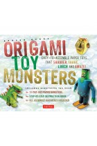 Купить - Книги - Origami Toy Monsters Kit