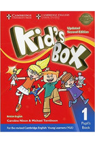 Купить - Книги - Kid's Box Level 1 Pupil's Book British English