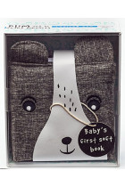 Купить - Книги - Wee Gallery Cloth Books: Bear