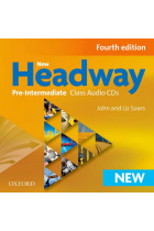 Купить - Книги - New Headway Fourth Edition Pre-Intermediate Class Audio CDs