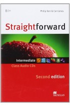 Купить - Книги - Straightforward 2nd Edition Intermediate Class Audio CD