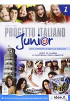 Купить - Книги - Progetto Italiano Junior: Libro + Quaderno (+CD)