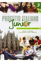 Купить - Книги - Progetto Italiano Junior: Libro + Quarderno (+CD)