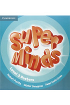 Купить - Книги - Super Minds 3. Posters 10 pcs