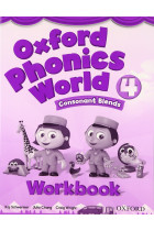 Купить - Книги - Oxford Phonics World: Level 4: Workbook