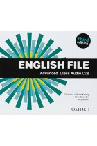 Купить - Книги - English File Third Edition Advanced Class Audio CDs