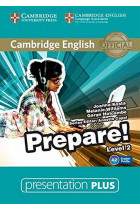 Купить - Книги - Cambridge English Prepare! Level 2. Presentation Plus DVD-ROM