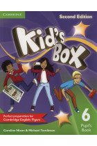 Купить - Книги - Kid's Box Level 6. Pupil's Book