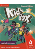 Купить - Книги - Kid's Box Level 4. Pupil's Book