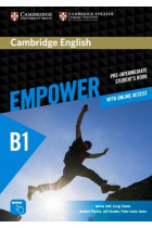 Купить - Книги - Cambridge English Empower B1 Pre-Intermediate Student's Book