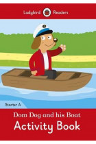 Купить - Книги - Dom Dog and his Boat Activity Book. Ladybird Readers Starter Level A