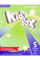 Купить - Книги - Kid's Box Level 5 Activity Book with Online Resources