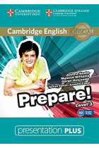 Купить - Книги - Cambridge English Prepare! Level 3. Presentation Plus DVD-ROM