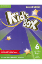 Купить - Книги - Kid's Box Level 6 Activity Book with Online Resources