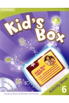 Купить - Книги - Kid's Box. Level 6. Activity Book (+CD)
