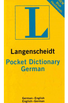 Купить - Книги - Langenscheidt Pocket Dictionary German: Deutsch-Englisch/Englisch-Deutsch