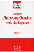 Купить - Книги - Le point sur L'intercomprehension, cle du plurilinguisme