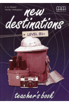 Купить - Книги - New Destinations. Level B1+. Teacher's Book