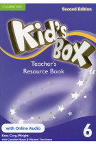 Купить - Книги - Kid's Box 6. Teacher's Resource Book with Online Audio. Second edition