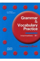 Купить - Книги - Grammar and Vocabulary Practice: B1: Theacher's Book
