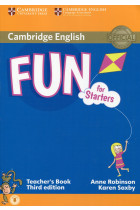 Купить - Книги - Fun for Starters. Third Edition. Teacher's Book with Downloadable Audio