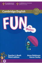 Купить - Книги - Fun for Movers. Third Edition. Teacher's Book with Downloadable Audio