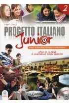 Купить - Книги - Progetto Italiano Junior 2  Libro & Quaderno (+ CD audio)