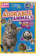 Купить - Книги - Adorable Animals. Super Sticker Activity Book