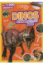 Купить - Книги - Dinos. Sticker Activity Book