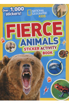 Купить - Книги - Fierce Animals. Sticker Activity Book