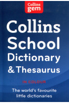 Купить - Книги - Collins School Dictionary and Thesaurus