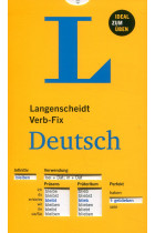 Купить - Книги - Langenscheidt Verb-Fix Deutsch