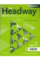 Купить - Книги - New Headway Beginner. Workbook without Key (+ CD-ROM)