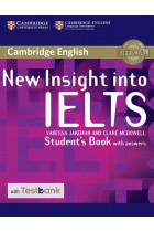 Купить - Книги - New Insight into IELTS Student's Book with Answers with Testbank