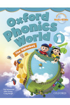 Купить - Книги - Oxford Phonics World 1 Student's Book: The Alphabet (+ Multi-ROM)