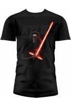 Купить - Игрушки, творчество - Футболка Star Wars The Force Awakens Kylo Lightsaber Black T-Shirt size M (SDTSDT89909)