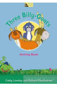 Фото - Fairy Tales Three Billy-Goats Activity Book