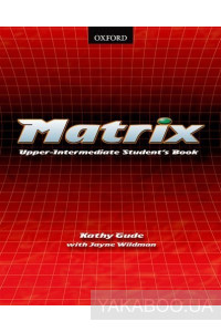 Фото - Matrix Upper-Intermediate. Student's Book