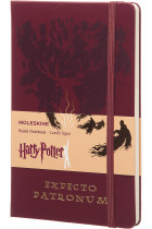 Купити - Блокноти - Нотатник Moleskine Harry Potter Expecto Patronum в лінію (LEHPAQP060)