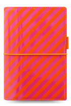 Купити - Блокноти - Органайзер Filofax Domino Patent Personal Orange/Pink Stripes (18-022575)