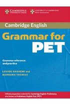 Купити - Книжки - Cambridge Grammar for PET without Answers Grammar Reference and Practice