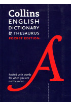 Купити - Книжки - Collins English Dictionary and Thesaurus: Pocket edition