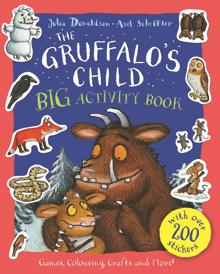 Gruffalos Child Big Activity Book with over 200 stickers